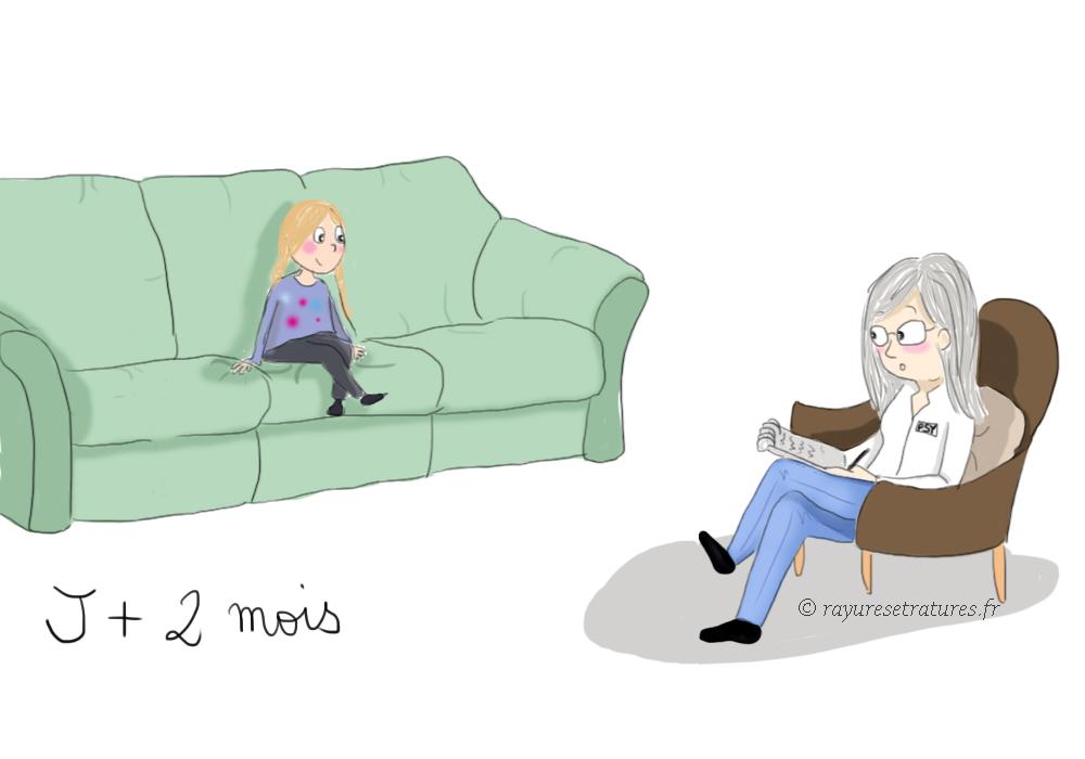 illustration chez le psy- consulter un psy - surdoué enfant