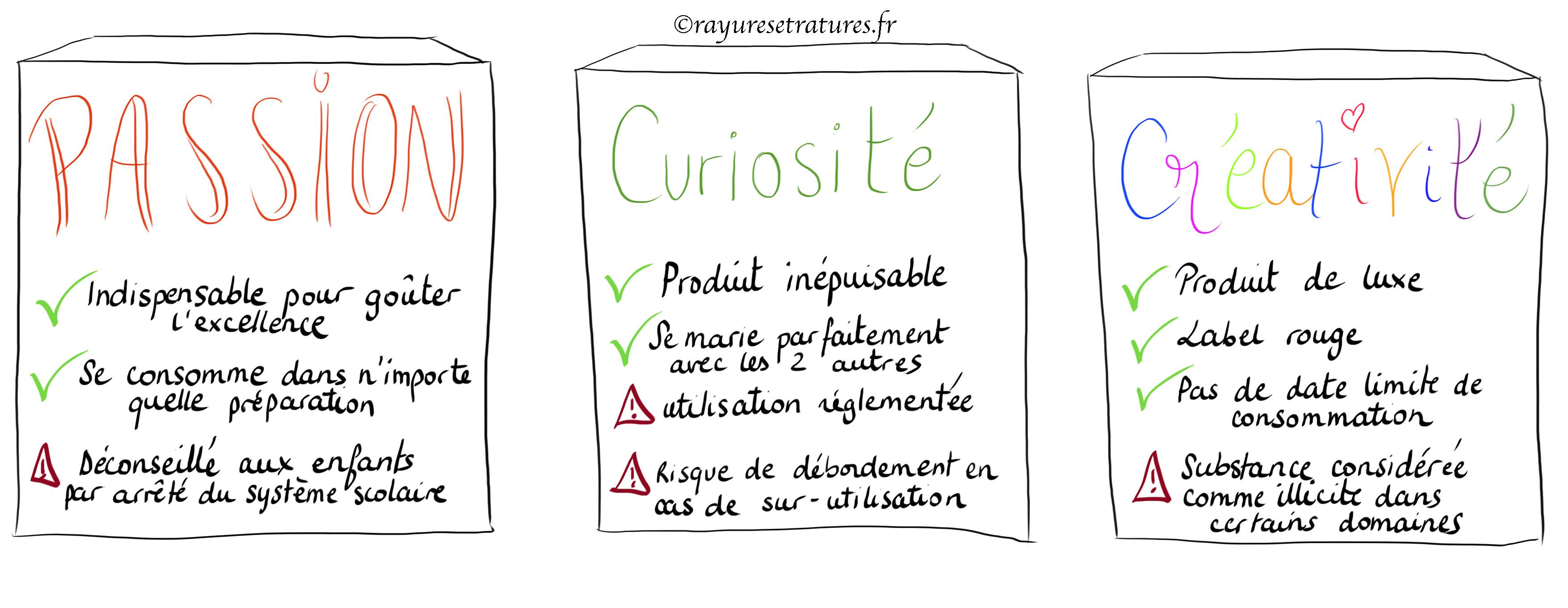 Qualités des surdoués non reconnues à l'école ou en entreprise - créativité curiosité passion