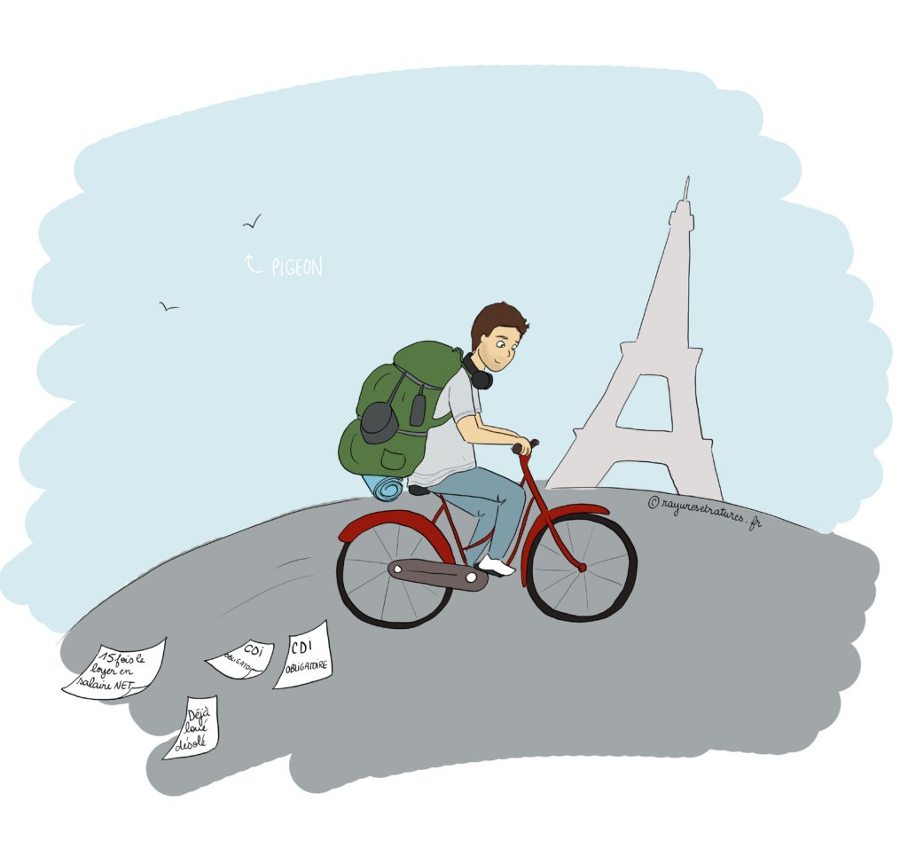 backpacker paris reconversion digital nomade