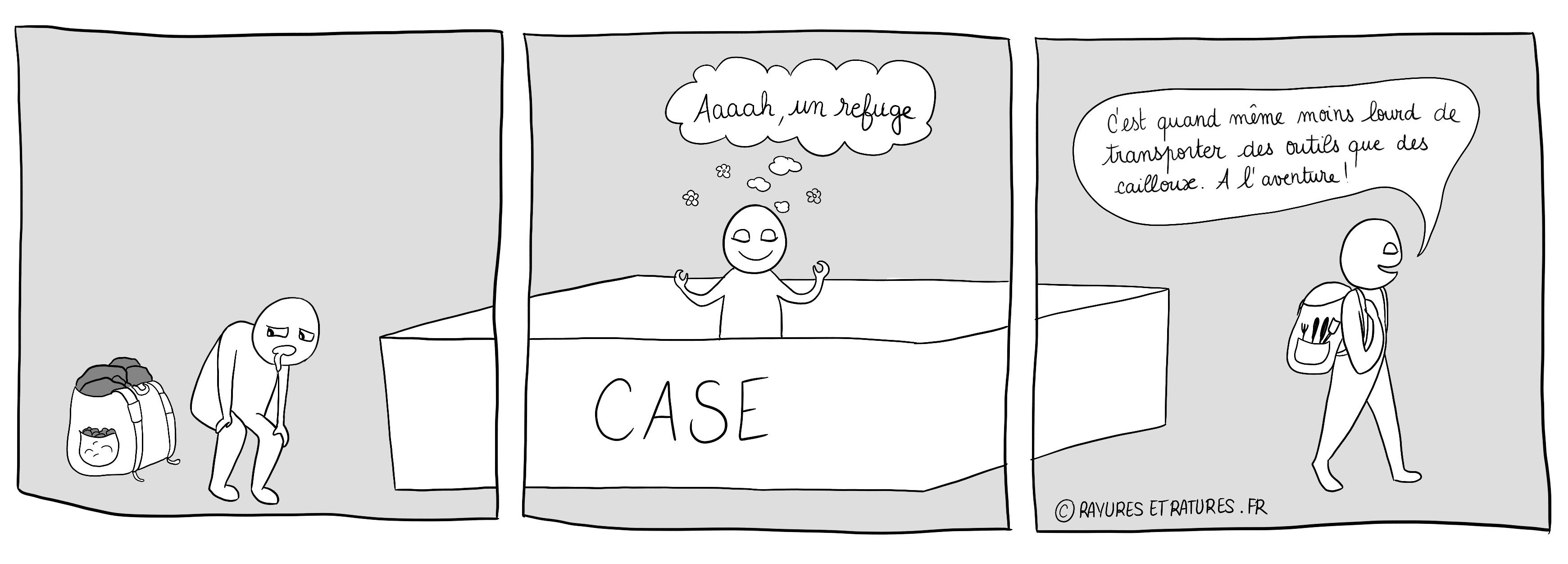 Refuge dans une case - Besoin d'appartenance - Poser un diagnostic - importance d'être identifié surdoué